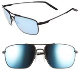 Revo Men's 'Groundspeed' 59Mm Polarized Aviator Sunglasses - Black/ Blue Water
