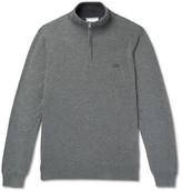 Lacoste - Cotton-jersey Half-zip Sweatshirt