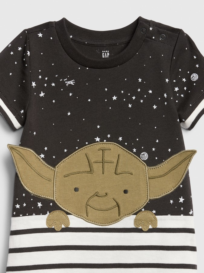 Thumbnail for your product : Star Wars babyGap | Yoda Shorty One-Piece