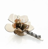 Tory Burch Large Floral Hair Pin