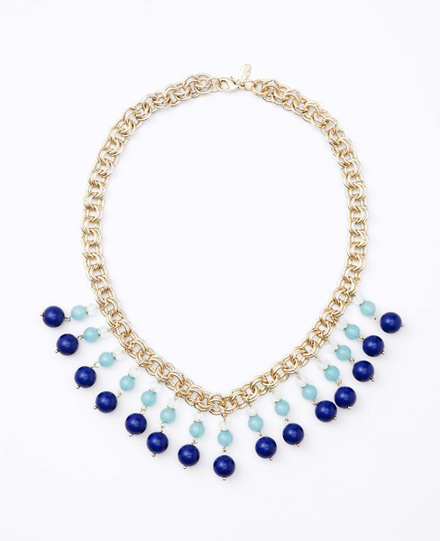 Ann Taylor Color Drop Necklace