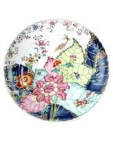 Mottahedeh Tobacco Leaf Dinner Plate