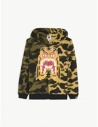 A Bathing Ape Tiger camouflage cotton hoody 5-8 years