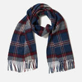 Barbour Men's Wimbrel Scarf Blue Check