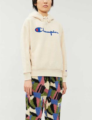 Champion Logo-embroidery fleece hoody