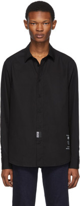 Versace Black Back Logo Shirt