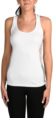 90 Degree By Reflex Fishnet Mesh Tank Top