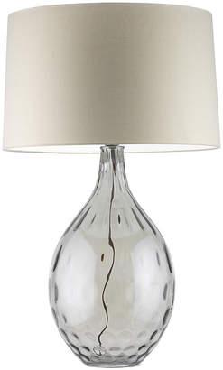 Heathfield & Co Bella Table Lamp - Smoke / Oyster