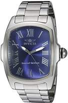 Invicta Men's 21391 Lupah Stainless Steel Bracelet Watch with Blue Dial