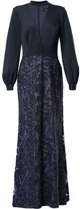 Tadashi Shoji embroidered Elm dress