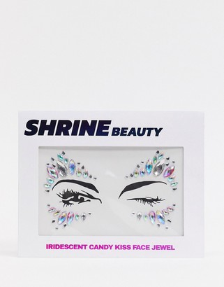 Shrine Iridescent Candy Kiss Face Jewels