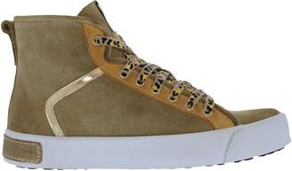 Blackstone UL74 Genuine Shearling High Top Sneaker