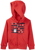 Quiksilver Hooded Zip Fleece (Toddler Boys)