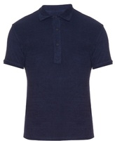 Orlebar Brown Sebastian French Terry-towelling Polo Shirt