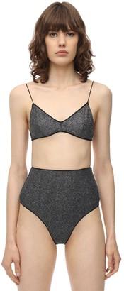 Oseree High Waist Lurex & Lycra Bikini
