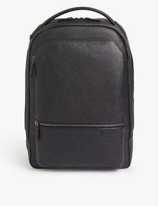 Tumi Bradner grained leather backpack