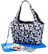 Disney Mickey Mouse Large Tote with Crinkle Toy Book, Gray