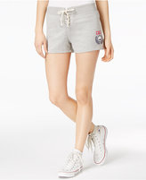 Ultra Flirt Ulta Flirt Juniors' Lace-Up Active Graphic Shorts