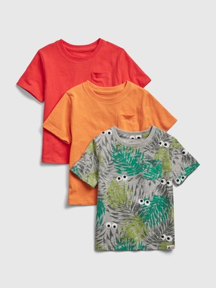 Gap Toddler Organic Mix and Match T-Shirt (3-Pack)