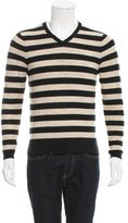 Shipley & Halmos Merino Wool V-Neck Sweater