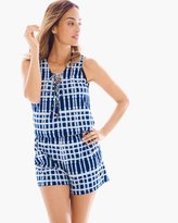 Chico's Swim Cover-up Romper