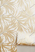 Anthropologie Frond Silhouette Wallpaper