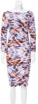 Escada Printed Midi Dress