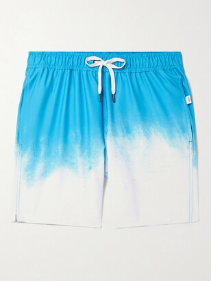 Onia Charles Slim-Fit Short-Length Degrade Swim Shorts