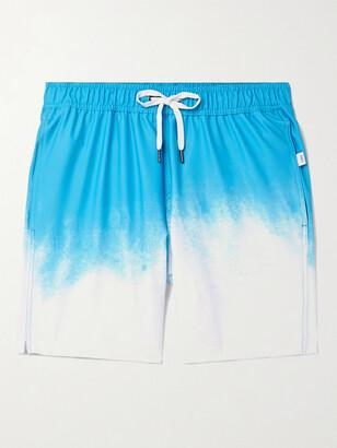 Onia Charles Slim-Fit Short-Length Degrade Swim Shorts - Men - Blue