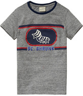 Scotch & Soda Worked-Out Varsity T-Shirt