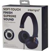 intempo Encore Headphones Blue
