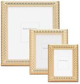 Reed & Barton Watchband Picture Frame in Satin Gold