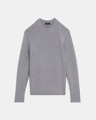 Theory Crewneck Sweater in Merino Wool Blend