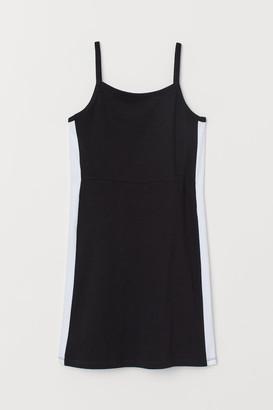 H&M Sleeveless Jersey Dress - Black
