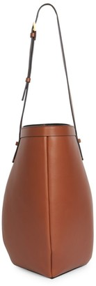 Valentino By Your Side Leather Bucket Bag