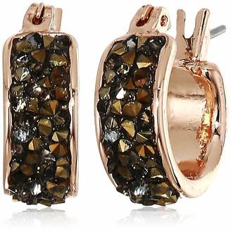 Kenneth Cole Women's Sprinkle Stone Huggie Hoop Earrings Set