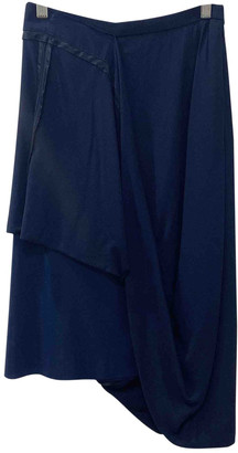 Maison Martin Margiela Pour H&m Navy Viscose Skirts
