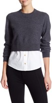 Marc by Marc Jacobs Superfelt Shirttail Wool Sweater