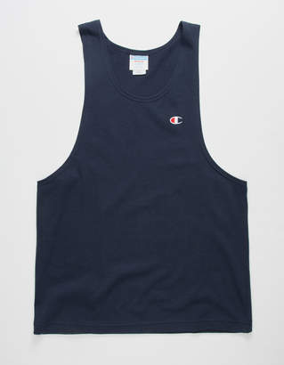 Champion Muscle Navy Mens Muscle Tank Top