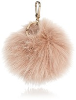 Furla Bubble Pom-Pom Fur Bag Charm