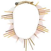 Gemma Redux Rose Quartz Collar Necklace