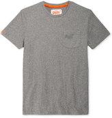 Superdry Men's Orange Label Embroidered Logo Pocket T-Shirt