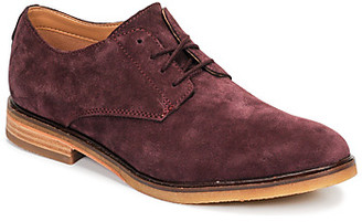 Clarks CLARKDALE MOON men's Casual Shoes in Red