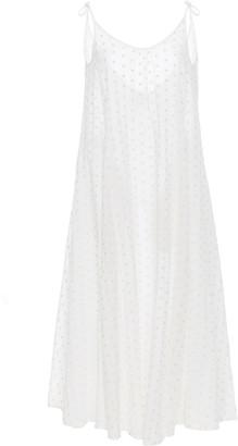 Solid & Striped Printed Spaghetti Strap Maxi Dress
