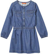 Joe Fresh Toddler Girls' Denim Dress, Medium Wash (Size 4)