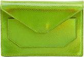 Narciso Rodriguez Lizard Crossbody Envelope Clutch