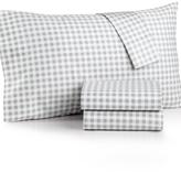 Charter Club Damask Designs Printed Standard Pillowcase Pair, 500 Thread Count