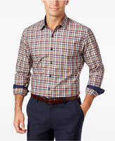 Tasso Elba Men's Plaid Long-Sleeve Classic-Fit Shirt, Created for Macy's