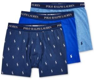 Polo Ralph Lauren Men's 3-Pk. Classic Stretch Boxer Briefs