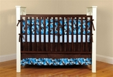 Mink Camo Bedding Blue